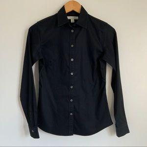 BANANA REPUBLIC Black Botton Down Dress Shirt - 2P